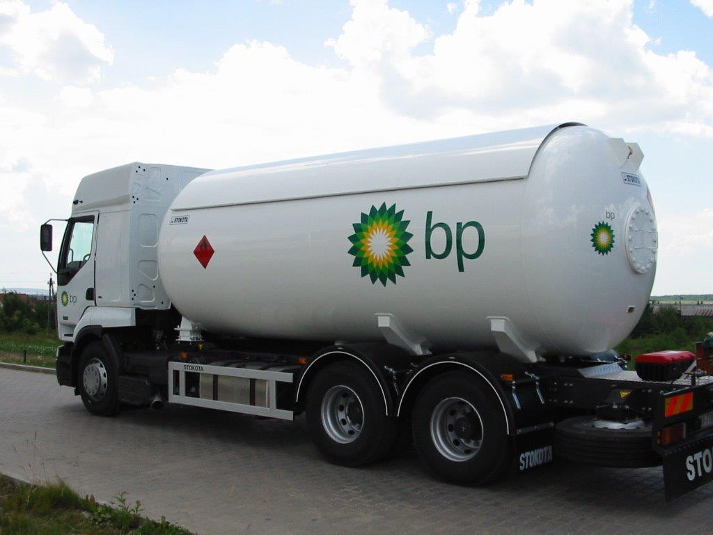 LPG tank trucks