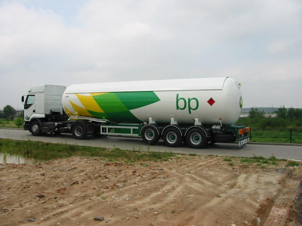 LPG superstructures and trailers