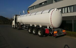New LPG semi-trailer