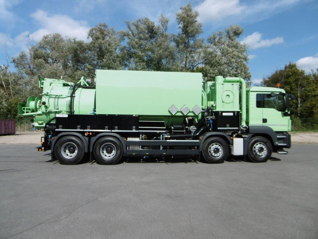 Rigids 2-, 3- or 4-axle chassis
