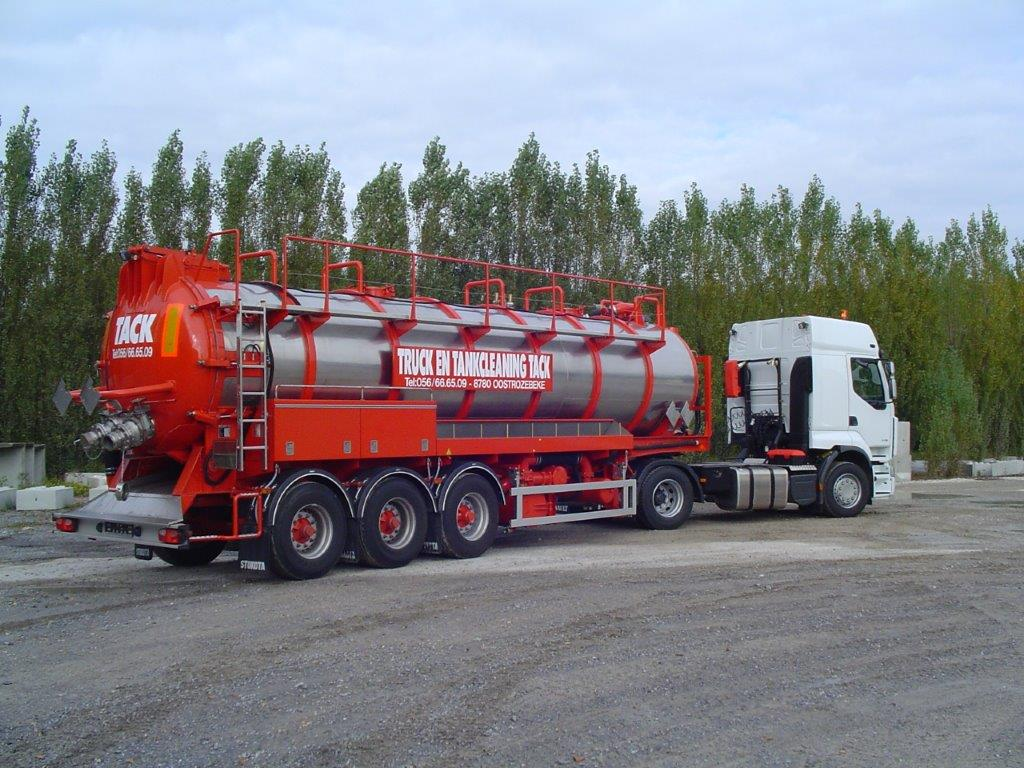 Semi-trailers 2- or 3-axle chassis
