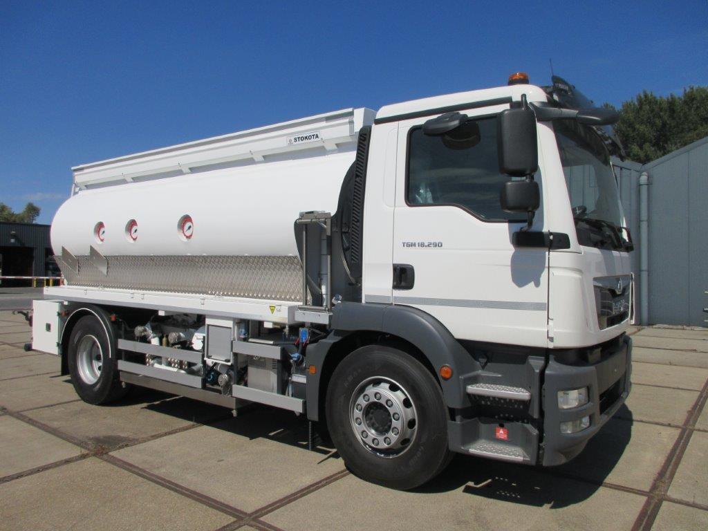 Waste Oil Trucks – Electric driven